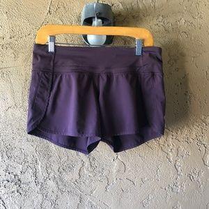 Lululemon Purple Running Short